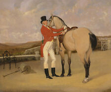 James Taylor Wray of the Bedale Hunt with his Dun Hunter Martin HORSE B a3 00551