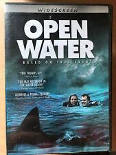 Blanchard Ryan OPEN WATER ~ 2004 Shark Horror / Found Footage Region1 US DVD