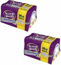 Scoop Away Extra Strength Clumping Cat Litter Scented - 4 Pk (2X4Pk) (76 Lbs.)