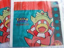 16 Pokemon Party Gift Bags Plastic  Slowking