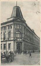 Lodz Litzmannstadt AK 1929 Warsaw POLISH passersby Poland Polska 1601103