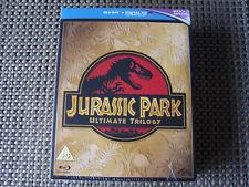 Box Set: Jurassic Park : Ultimate Trilogy : 3 Films - Blu-Ray Discs : Sealed