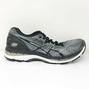 Asics Mens Gel Nimbus 20 T800N Gray Running Shoes Lace Up Low Top Size 11.5
