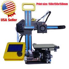 Mini Desktop 3D Printer, Metal Frame Structure, DIY High Accuracy, Extruder VIP