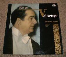 Italian Arias Giuseppe Valdengo~RARE 1966 Czech Import~Opera~Verdi~Rossini~NM LP