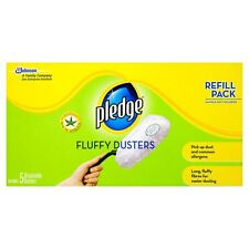Pledge Fluffy Dusters Refill 5 Pack - Free Post
