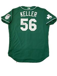 MLB Authenticated - Brad Keller Autographed Royals St. Patrick's Day Jersey