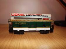 Xa318: Lionel O Gauge Southern Bay Window Caboose - 6-9273 - Exc/Boxed