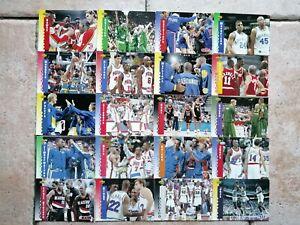 Lot Cartes Upper Deck Hologramme McDonald's NBA Basketball 93'94' VF