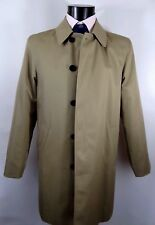 Aquascutum BROADGATE trench manteau de pluie DK Beige 42R MADE UK BNWT