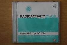 Radioactivity Volume 01-08 Essential Top 40 Hits Pulse Music DJ Tools (Box C108)