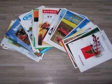 Lot de 48 Prospectus/Brochure/Prospekt agricoles/tracteurs Diverses Marque (1)