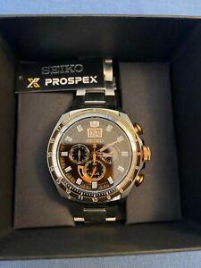 Seiko Solar Prospex SPECIAL EDITION  Bronze Dial Watch
