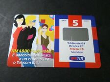 Phone Card Italy, Italy, Pay For Me Tim, Used,