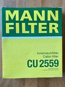 1x Original MANN-FILTER CU 2559 Filter, Innenraumluft Ford