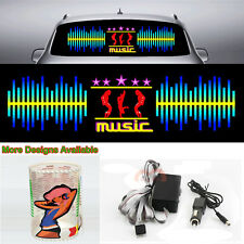 Dynamic Music Car Sticker Sound Rhythm Flash Light Sound Activated Equalizer 90L