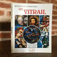 Catherine Brisac Didier Alliou Orologio E Figura Uno Vetro Jupilles 1985