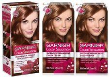 3x Garnier Color Colour Intensity 6.35 Chocolate Brown - Permanent Dye