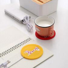 Anti-skidding USB Heating Coaster Cup Warmer Beverage Milk Water Heater Mat