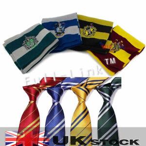 Adult Film Hogwarts Hollywood Cosplay Costume Tie+Scarf Set