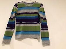 a2e1c3e577 Sisley Woman Multicolor Striped Crew Neck Sleeve 70% Wool Sweater Size S