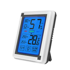 LCD Backlight Digital Indoor Temperature Humidity Meter Thermometer Hygrometer