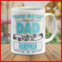 Coffee Mug Dad Father Daddy Grandpa Father's Day Handyman Gift Gifts Mugs Cool