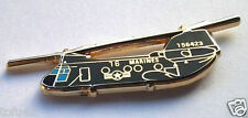 HELICOPTER CH-46 SEA KNIGHT Military Veteran US MARINE CORP Hat Pin P15902 EE