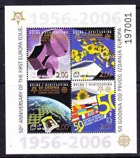 Bosnia/Herz. Mostar 2006 50Y Europa m/s ** mnh (A753A)