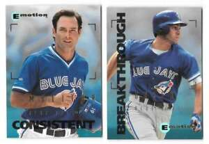1995 EMOTION - TORONTO BLUE JAYS Team Set