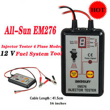 All-Sun EM276 Injector Tester Fuel Injector 4 Pluse Modes Fuel System