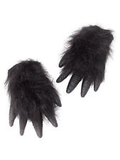 Deluxe Gorilla Monkey Ape Wild Animal Rubber Hands Fancy Dress Prop Accessory