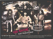 Ozzy Osbourne Pinup Ad No Rest For the Wicked