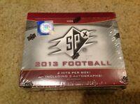 2013 UPPER DECK SPX FOOTBALL HOBBY FACT SEALD BOX