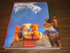 Teddy's World  /  Fold Out Pages by Joost Elffers and Mirja de Vries 2002 HCDJPC