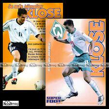 KLOSE MIROSLAV (BRÊME / Sportverein Werder Bremen) - Fiche Football SF Fussball