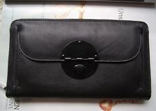 Mimco black Turnlock Travel Large size wallet