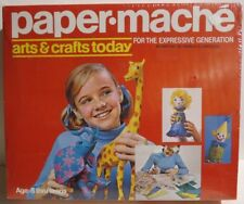 Hasbro Paper Mache Arts & Crafts Today Sealed NIB 1971