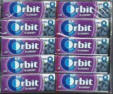 30x Wrigleys Orbit Blueberry Chewing Gum Full Box 300 pcs FREE SHIPPING