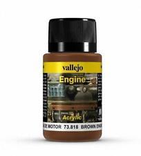 Vallejo Brown Engine Soot Model Paint Kit VAL 73818