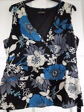 Principles sleeveless/evening blouse size 16