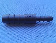2716) 1x Schlauchverbinder RGV 10-6 mm Connector / 57mm gerade reduziert schwarz