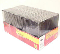 BRAND NEW BELKIN SLIM-STYLE JEWEL CASES 50 PACK STORAGE FOR CDS CD-RS CD-RWS DVD