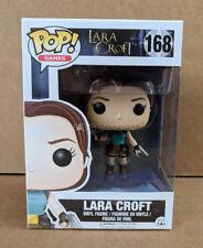Funko Pop Lara Croft Tomb Raider Games #168 Vinyl Figure - New Mint in Box