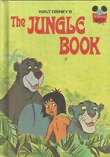 Walt disney The JUNGLE BOOK Vintage 1974..hardcover