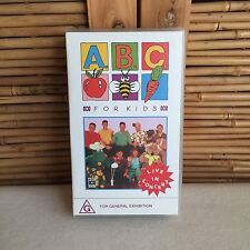 RARE 'The WIGGLES' Live in CONCERT 1992 Video TAPE Pal VHS (1993) ~ EC