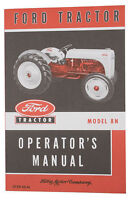 Operators Manual for Ford 8N Tractors (1948 to 1952).