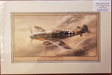 LimitedEdition Aviation Print Eastern Front Eaglesby Stephen Brown Messerschmitt