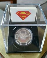 Superman Coin 2013 1 oz $20 Fine Silver Hologram Coin - Metropolis