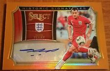 JOHN TERRY 2015 SELECT SOCCER ORANGE HISTORIC SIGNATURES AUTO ENGLAND 038/149